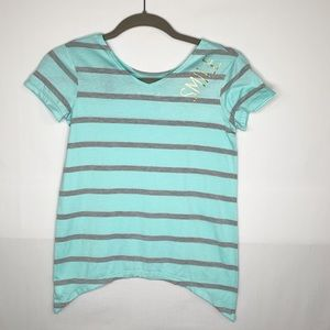 Total Girl Striped Shirt Size 10-12
